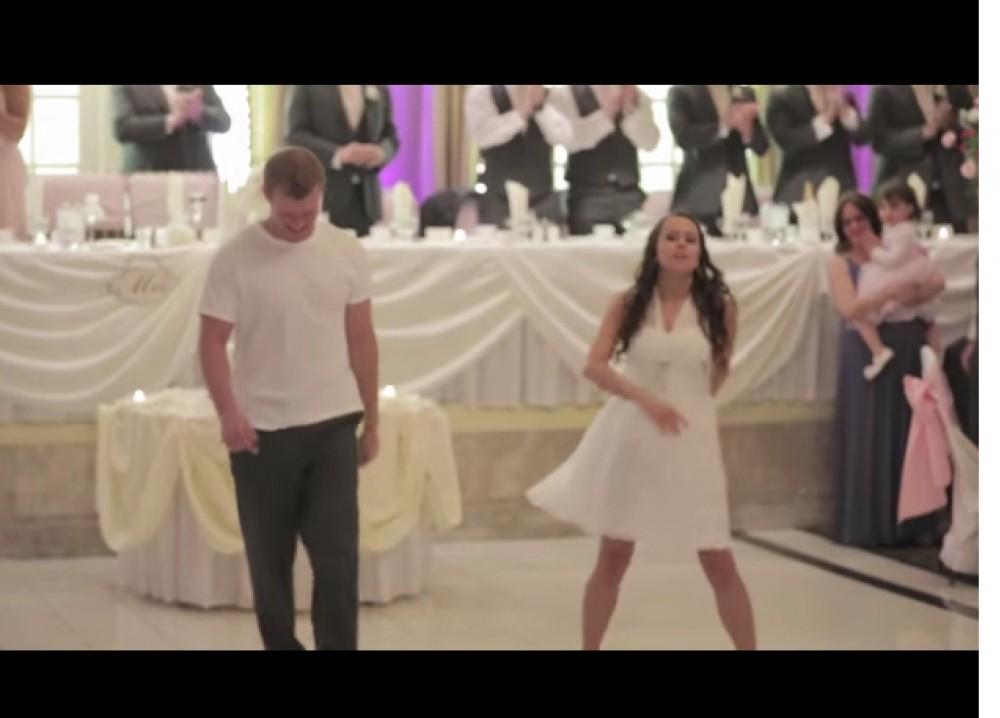 Este baile de novios esta buenisimo