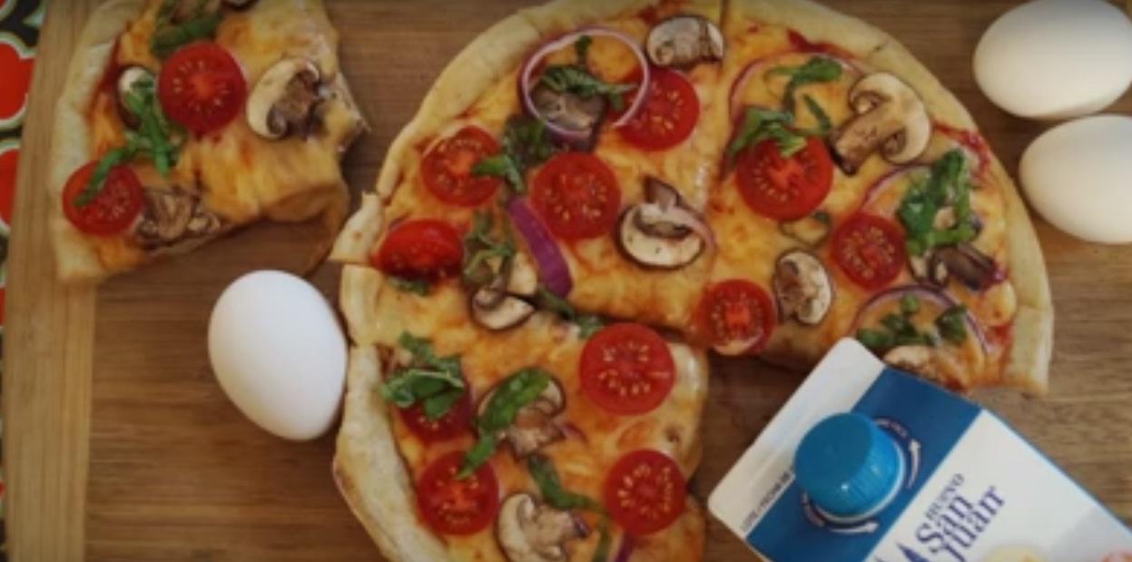 Pizza al instante Y sin horno